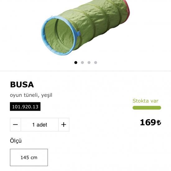 Ikea Oyun Tüneli