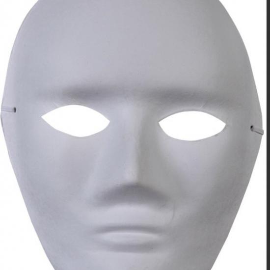 Südor Karton Maske Büyük