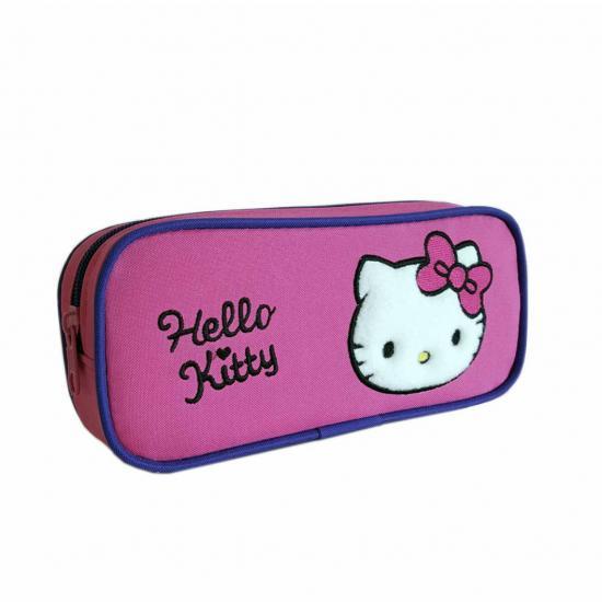 Hello Kitty 2 Bölmeli Kalemlik